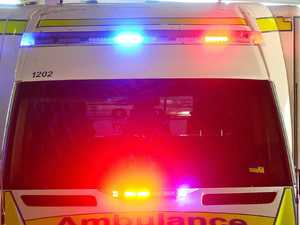 Motorcyclist injured in crash with kangaroo