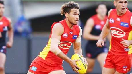 Jarrod Harbrow could win his first best-and-fairest at the Suns. Picture: Getty Images