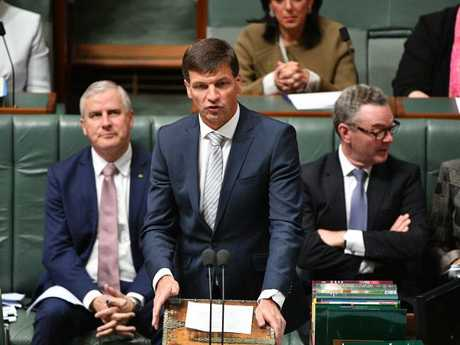 Minister for Law Enforcement and Cyber Security Angus Taylor says the security environment is constantly evolving.  Picture: Mick Tsikas