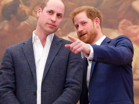 While Prince William and Harry are regularly photographed at official events, one royal expert thinks they should be more open with the general public. Picture: Toby Melville/ WPA Pool/Getty Images