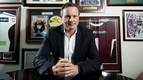 Manly co-owner Scott Penn is feeling the pain. (Tim Hunter.)