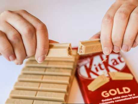 A sneak peek of what the new Kit Kat looks like. Picture: Supplied