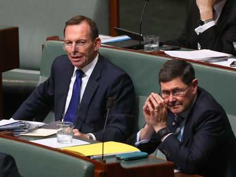 Kevin Andrews almost certainly voted for Mr Dutton. Picture Kym Smith