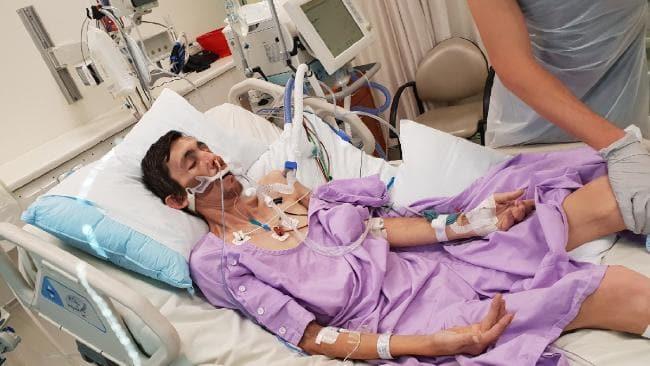Gold Coast stonemason Anthony White was diagnosed with silicosis.
