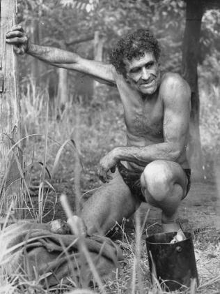 Michael 'Tarzan' Fomenko, living north of Cairns.