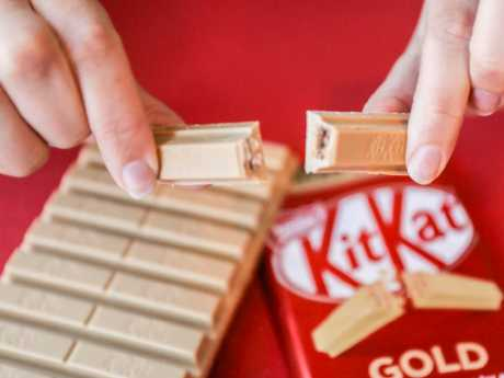 The new Kit Kat flavour up close. Picture: Supplied