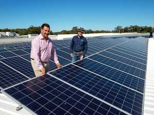 The coast's largest solar project unveiled