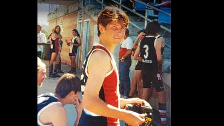 PROMISING ATHLETE: Matthew Mitchell played for the Sawtell Saints.