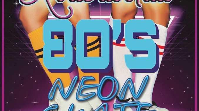 Rollerworld's 80s night.