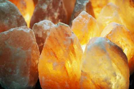 ANCIENT REMEDY: Himalayan Salt Lamps are a popular method of air cleansing.
