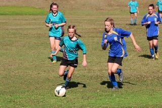Charli Stone opened Wollumbin's account midway through the first half of their round of 16 clash with Bellingen. Later, Charli's sister Summer scored the sealer.