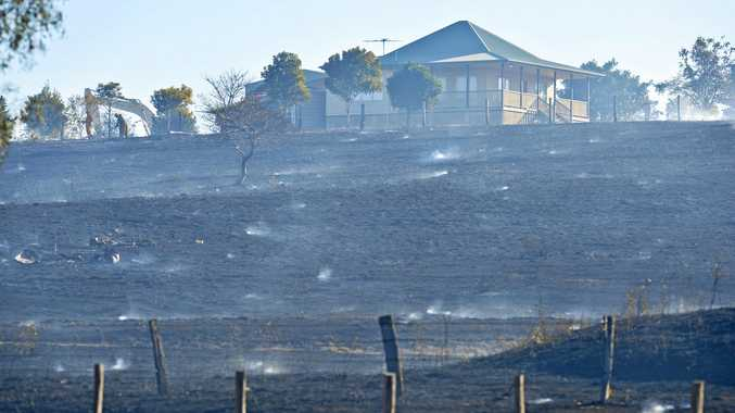 Fire conditions 'almost like a furnace' in Ipswich region