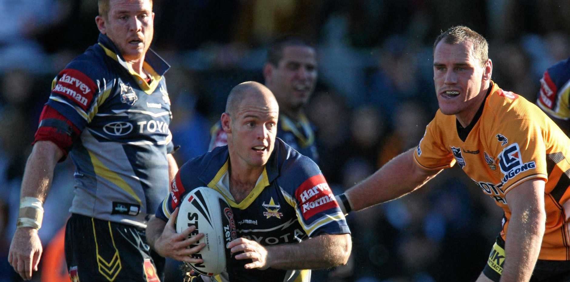 STAR POWER: Former Cowboy, NZ Warrior and MDRL legend Grant Rovelli will line up for Wests on Saturday.