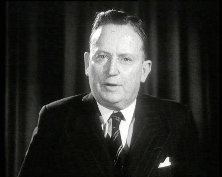 SHORT REIGN: Frank Forde served as prime minister from July 6-13, 1945.