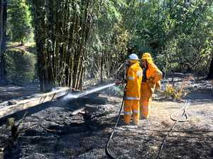 Neighbour saves shed from Gympie property fire