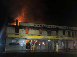 PUB FIRE: Main street open, investigations continuing