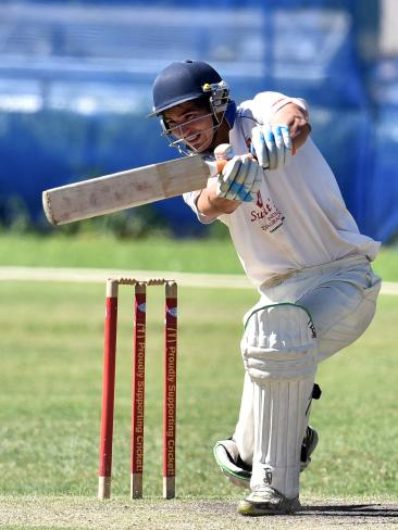 Wallabies' winger Jack Maddocks playing Sydney first grade cricket. Picture: Supplied
