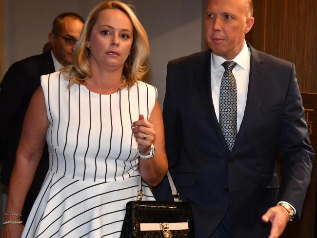 Peter Dutton and wife Kirilly have purchased six properties, including a $2.3 million mansion on the Gold Coast. Picture: AAP Image/Mick Tsikas