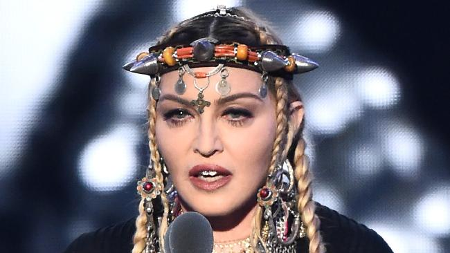 Madonna faced plenty of backlash over her speech during the 2018 MTV Video Music Awards. Photo: Michael Loccisano/Getty Images for MTV