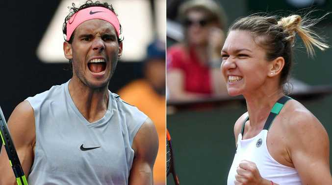 Rafael Nadal and Simona Halep are No. 1 seeds.
