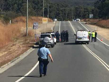 Man burn victim Wade Still was found on the roadside near Newcastle. Picture: NSW Police
