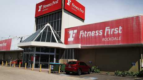 Fitness First, Rockdale, where Mick Hawi was shot and later died.