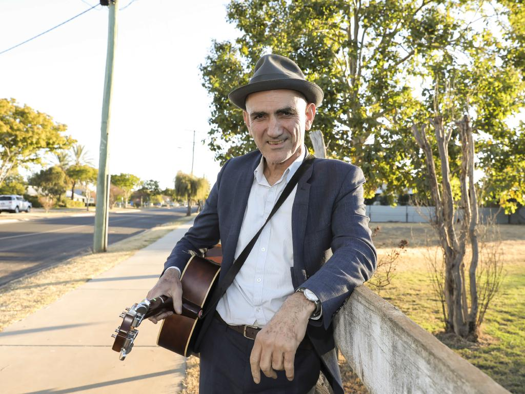 Paul Kelly says he has no clue why a Christmas tune without a chorus has become one of his most popular songs. Picture: Mark Cranitch.