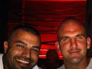 Murder accused 'met with Hawi's former bikie mate'