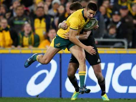 Maddocks says Eden Park holds no fear for him despite the Wallabies poor record there. Picture: Getty.