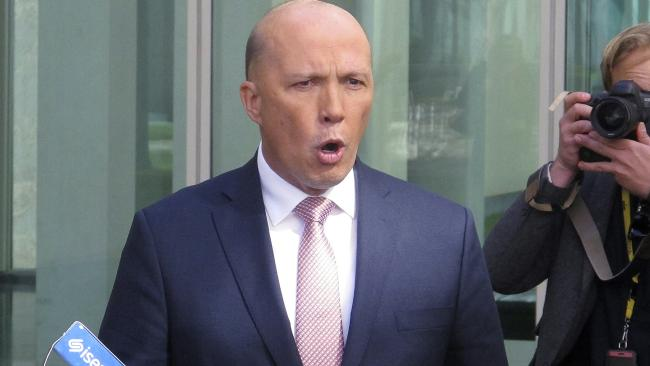What will Peter Dutton's next move be? (Pic: Rod McGuirk/AP)