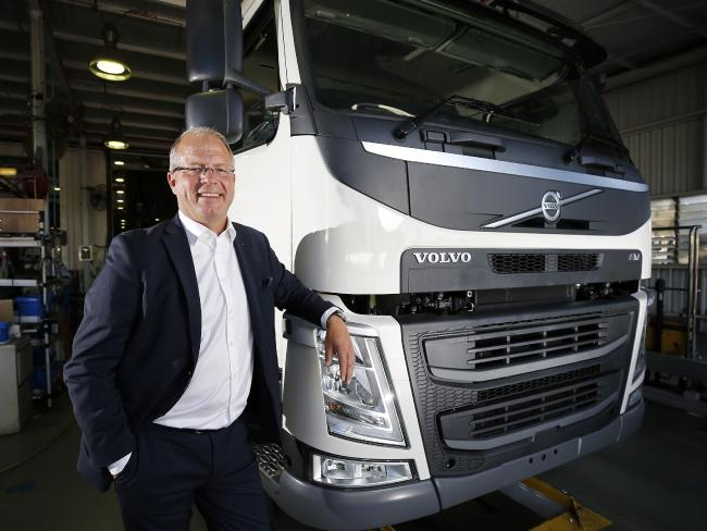 Volvo global president Martin Lundstedt. Picture: AAP/Josh Woning
