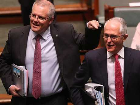 Scott Morrison has previously expressed interest in the prime ministership. Picture: Kym Smith