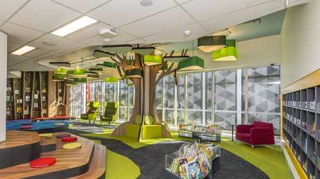 The children's library area at the new Springfield Library.