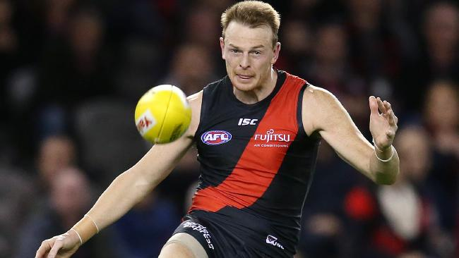 Brendon Goddard will play his final game for the Bombers on Friday. Picture: Michael Klein
