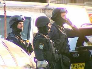 Sydney street goes into lockdown