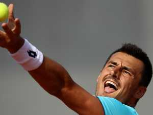 Tomic tripped up by tanking tactic