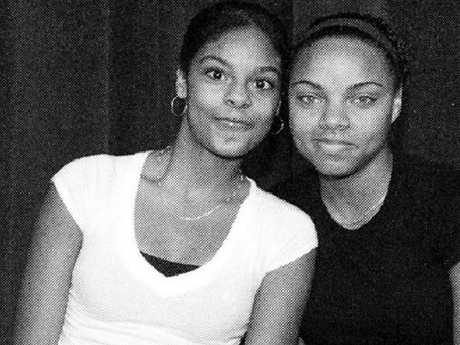 Shaneah, left, and Shayanna Jenkins, right, were dating Odin Lloyd and Aaron Hernandez.