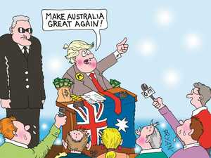 Peter Patter: 'Let's make Australia great again!'