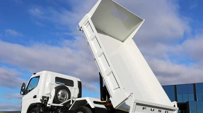 BIGGER TIPPER: Fuso's Built Ready Wide Cab Canter Tipper has gained an extra tonne of capacity.