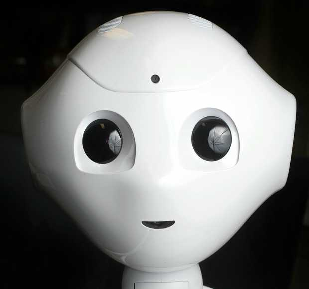 SUPER COOL: Pepper the robot is on loan at Claremont Special School.