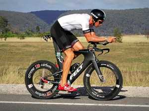 Ex-paddler shapes as age group contender at Iron 70.3 event
