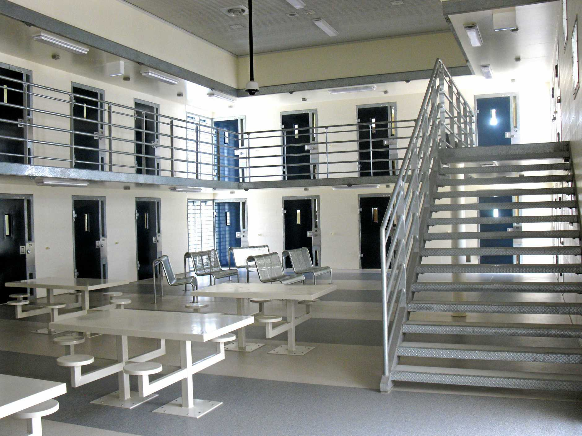 CHANGEOVER: The inside of the Southern Correctional Centre prior to its opening in 2011, which then housed male prisoners.