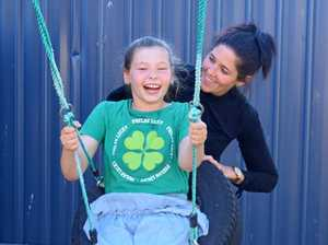 CQ mum's fight to help daughter with rare disease