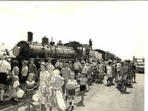 Flashback: All aboard state's last steam train in Mackay