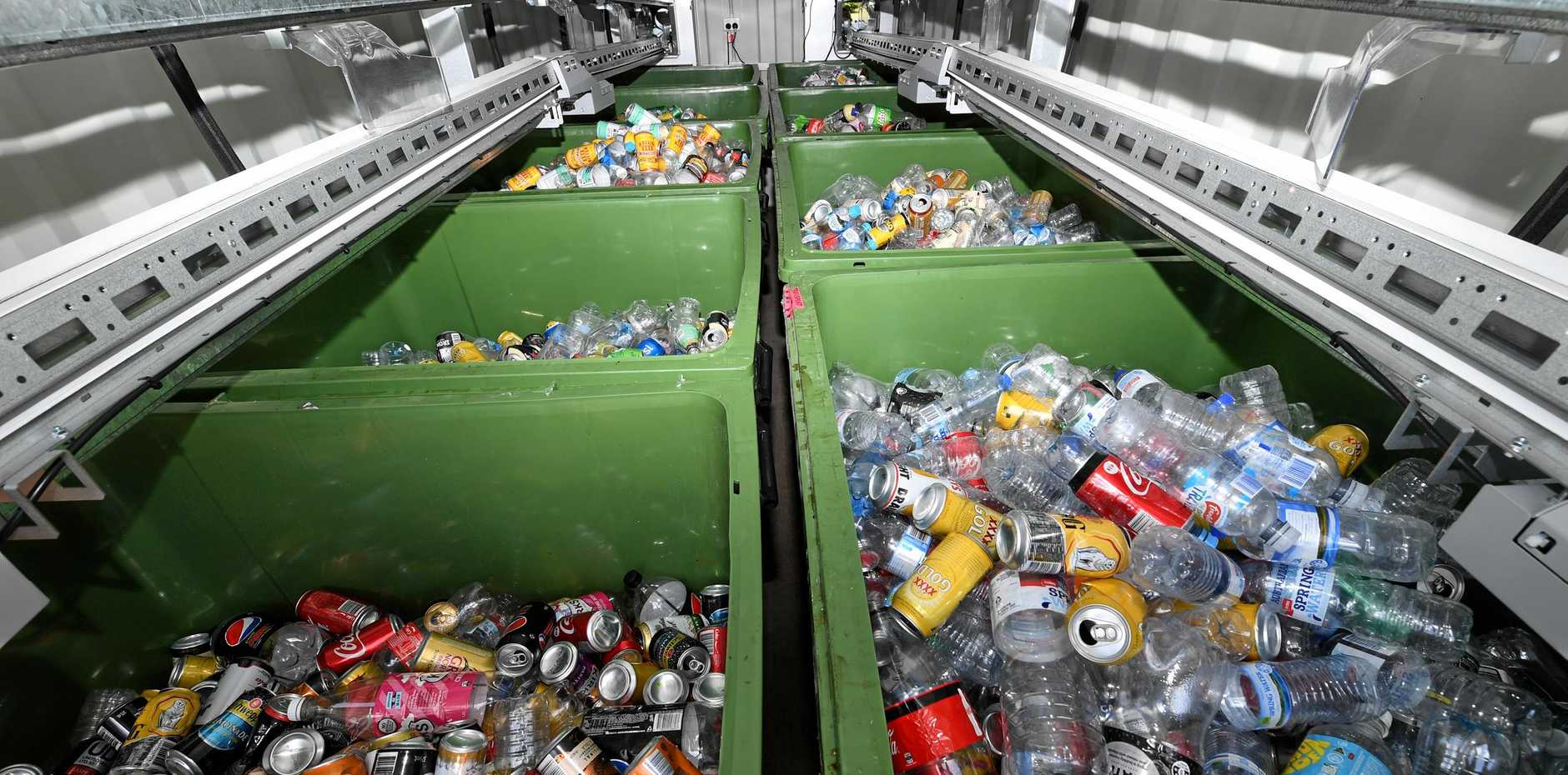 By November 1, community groups will have access to new source of revenue by cashing in old cans and bottles.