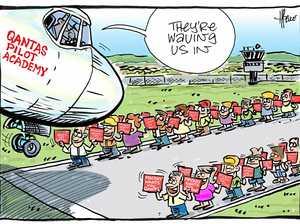 Qantas confirms it will open two pilot training schools