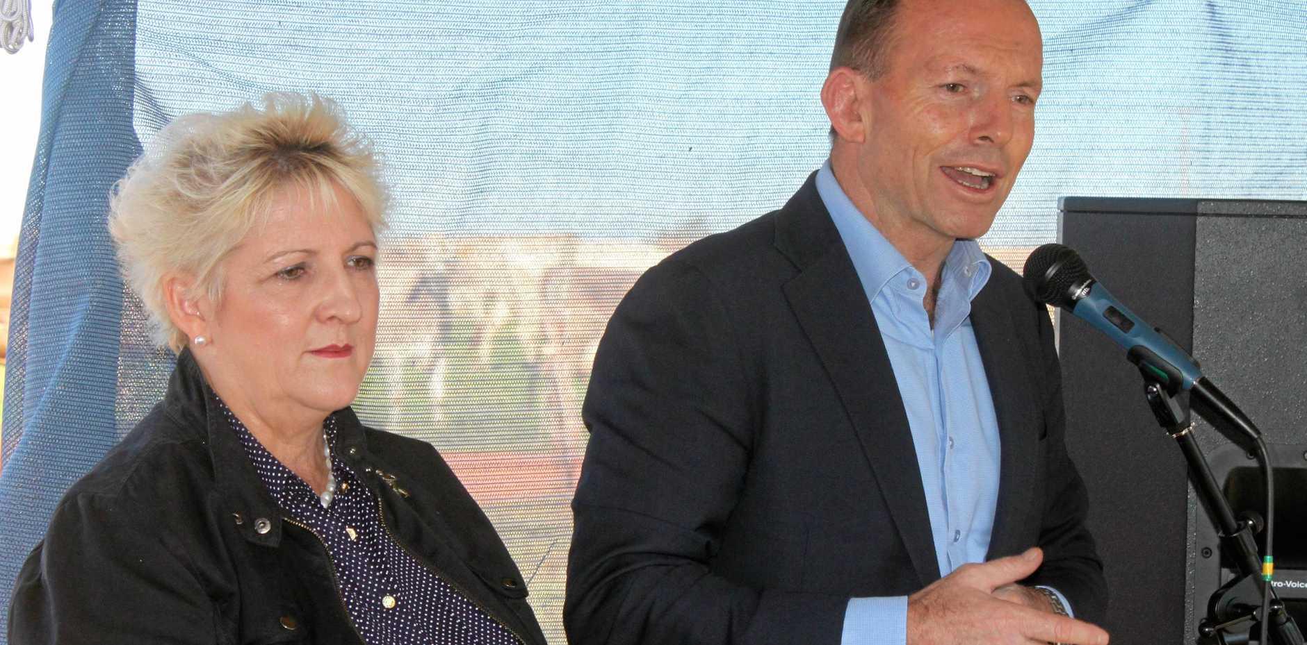 REVENGE PLOT: Capricornia MP Michelle Landry accused former PM Tony Abbott of orchestrating a revenge campaign.