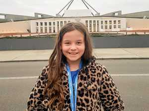 Young girl misses out on chance to speak with prime minister