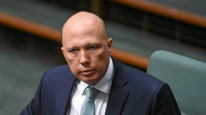 Minister Peter Dutton.
