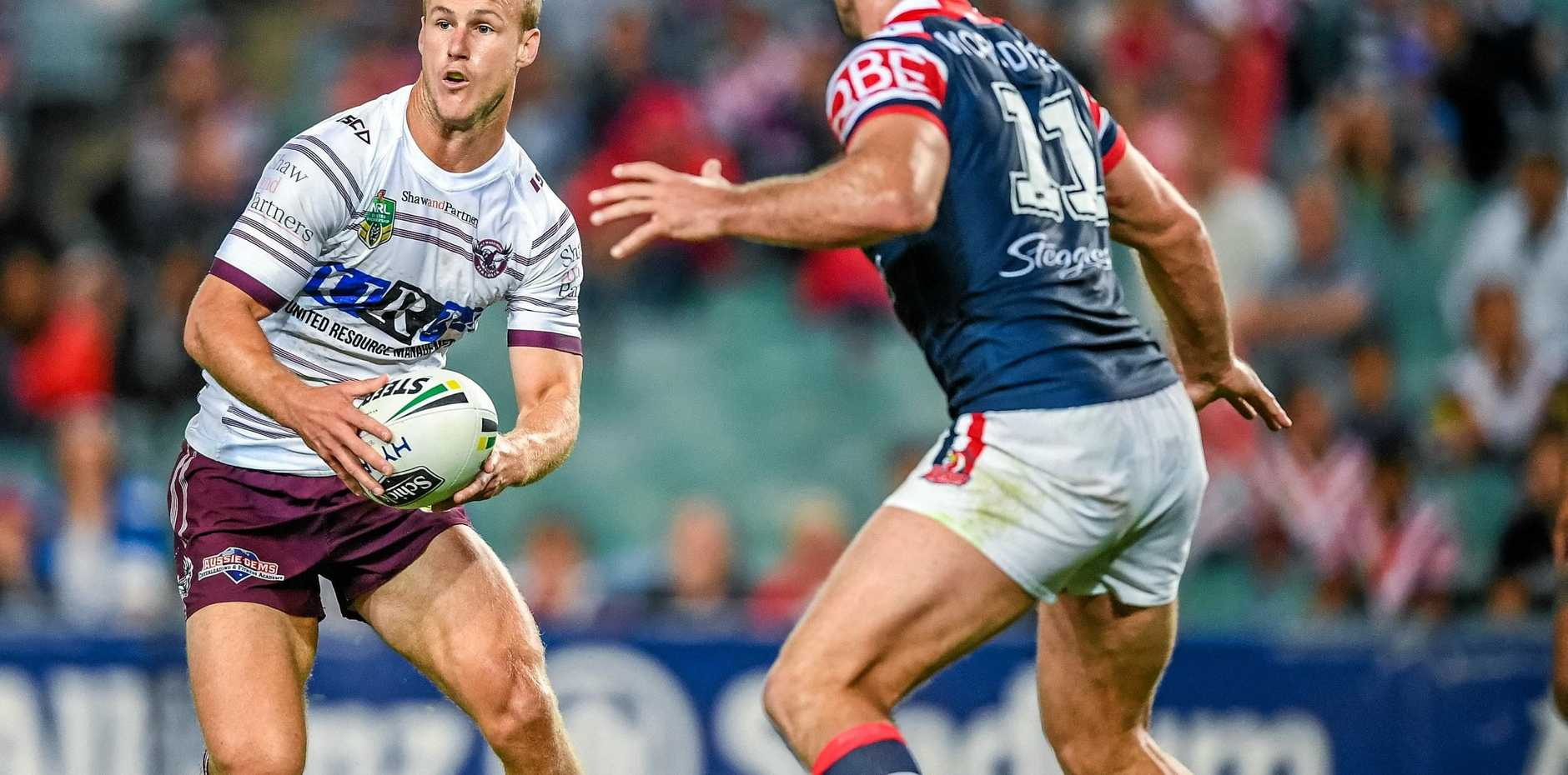 Manly skipper Daly Cherry-Evans's commitment to the club has been questioned. Picture: Brendan Esposito/AAP
